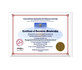 Marketing School Accreditation